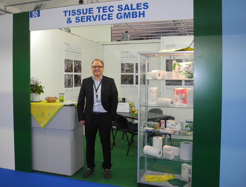 Booth at the Tissue World Barcelona 2015
